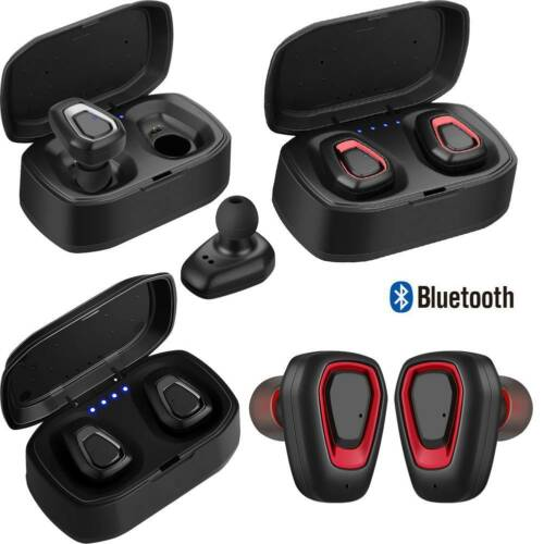 TWS Bluetooth Earbuds Headset Stereo Headphone Earphones for Samsung A9 A8 S9 S8 Cell Phone Accessories