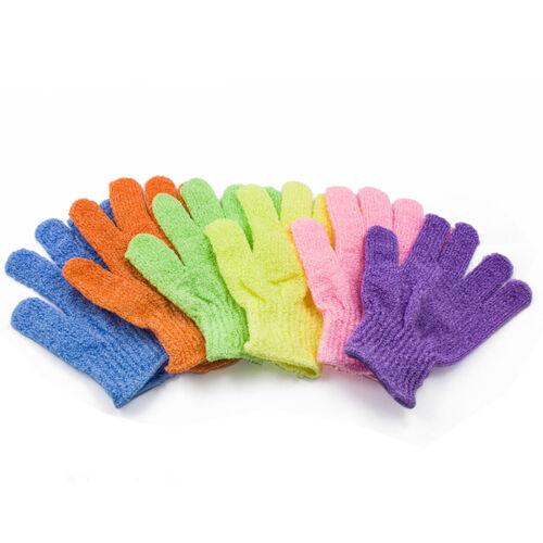 US 6~24 PCS Exfoliating Spa Bath Gloves Shower Soap Clean Hygiene Wholesale Lots