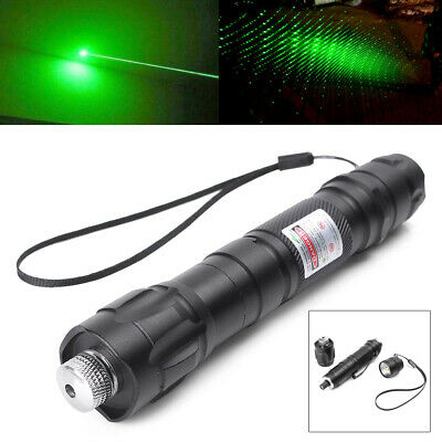 1xmilitary High Power 532nm Green Laser Pointer Pen Visible Beam Light Lazer Hot