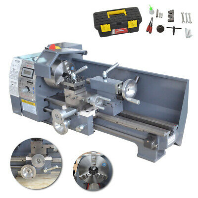 750w 8x16 Variable-speed Mini Metal Lathe Bench Precision Digital Workbench