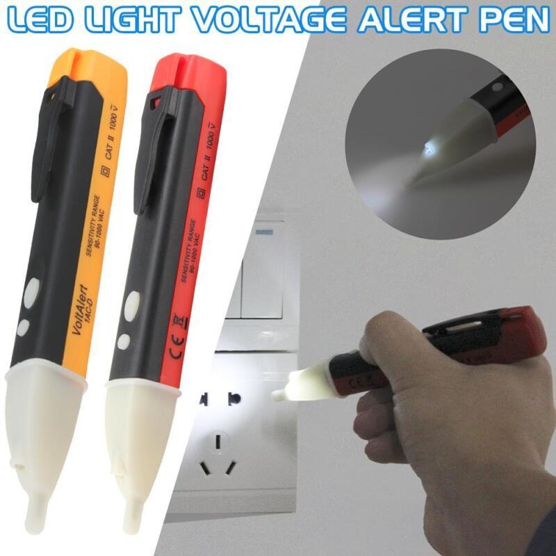 AC Non-Contact Electric Voltage Alert Detector Tester Test Pen 12//48~1000V LED