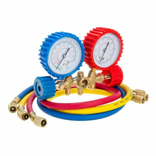Owner A/C AC Manifold Gauge Sets Quick Coupler Air Conditioner Refrigeration R134A R12