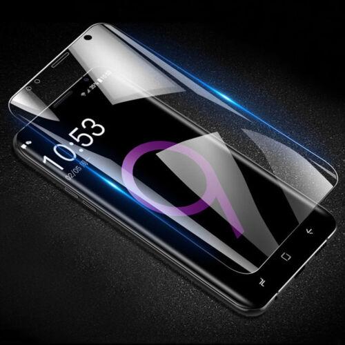 2x Panzerfolie Samsung Galaxy S8 S9 S10 Plus+ S6 S7 edge Note 8 9 Schutzfolie 3D