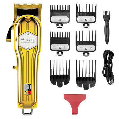 SURKER Kit per taglio di capelli professionale per parrucchiere cordless per barbiere