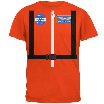 Halloween Astronaut Costume Orange Escape Suit Mens T Shirt - Halloween Escape