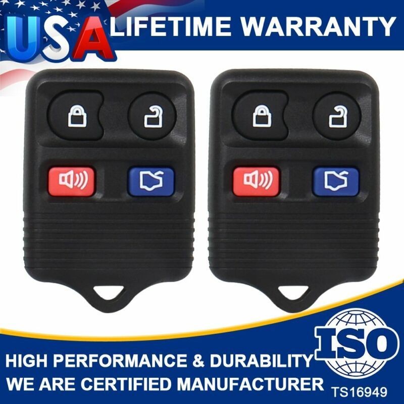 2 Keyless Entry Remote Control Car Key Fob Clicker Transmitter For Ford Explorer