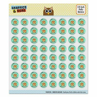 I Will Stop at Muffin Nothing Funny Puffy Bubble Scrapbooking Sticker Set Puffy Muffin