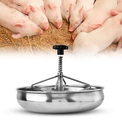 Piglet Feeding Sow Milk Trough Food Tray Pig Feeder Bowl Livestock Fodder New