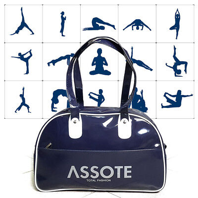 New Patent Leather Gym Sports Training Fitness Bag  Swimming bag