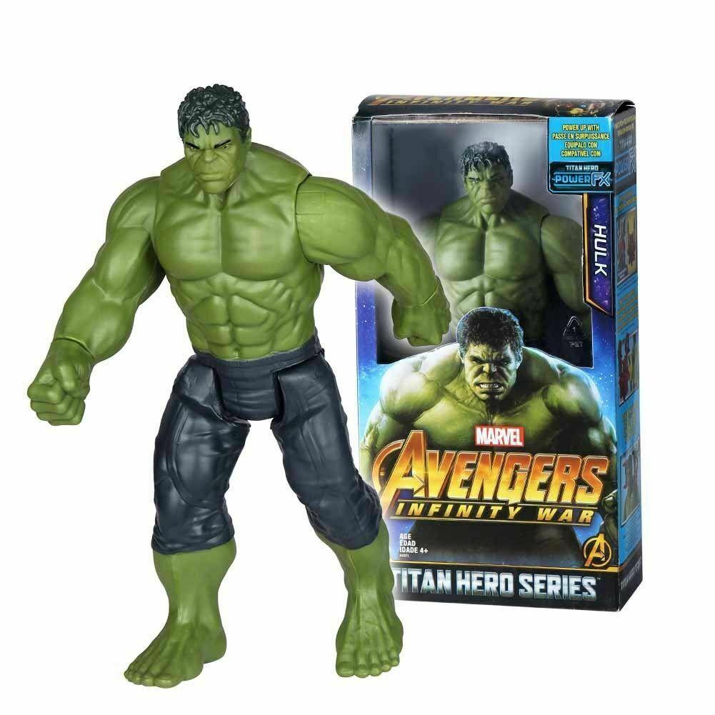 "2Hulk Actionfiguren Marvel Avengers 3 Infinity War 12 ""Titan Hero Serie 30cm Neu"