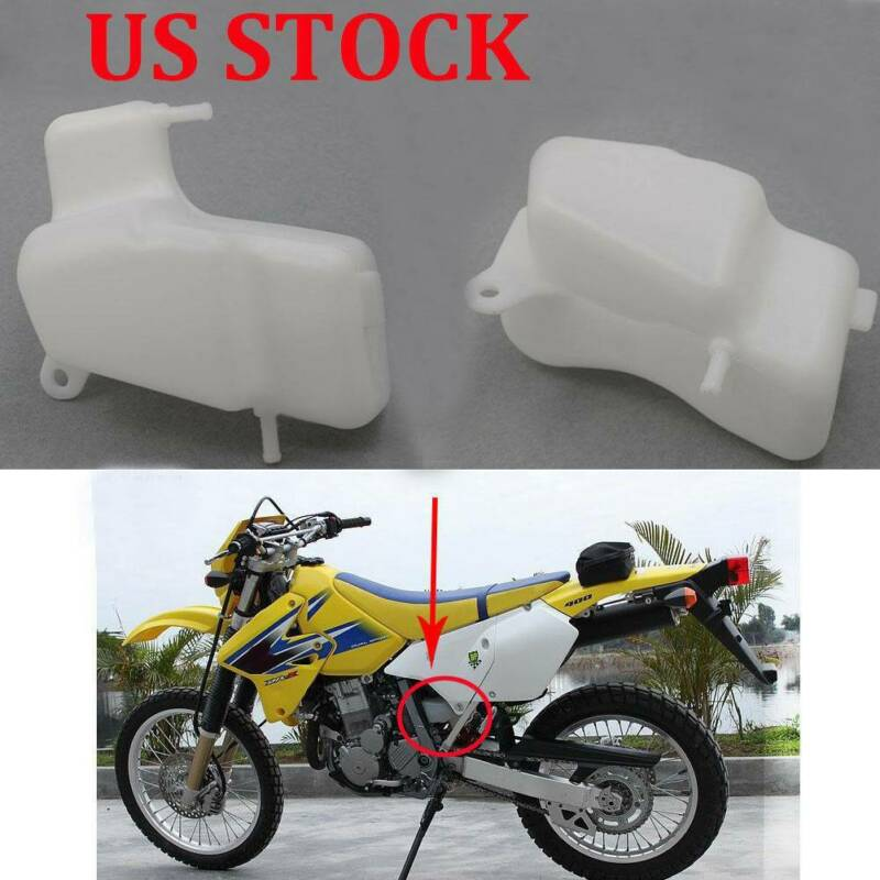 Details about US Stock Reservoir Coolant Tank For SUZUKI DR-Z400 DRZ400E  DR-Z400S DRZ400SM 400