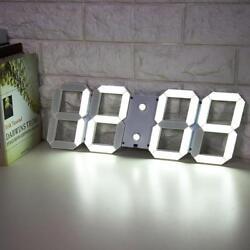 Large Big Number Digital Led Clock Wall Alarm Desk Clock Countdown Timer &Romote