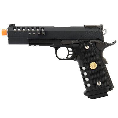 WE Full Metal Hyper Speed SKELETOR 5.1 Hi-Capa 1911 GBB Airsoft Pistol -