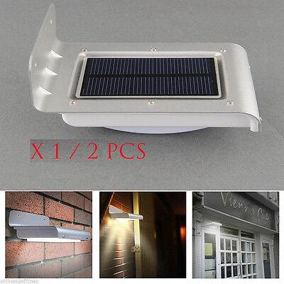 2X 16LED Solar Power Motion Sensor Garden ...