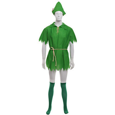 Halloween Cosplay Costume Peter Pan Robin Hood Party Costume Unisex Fancy Dress](Robin Cosplay Costume)