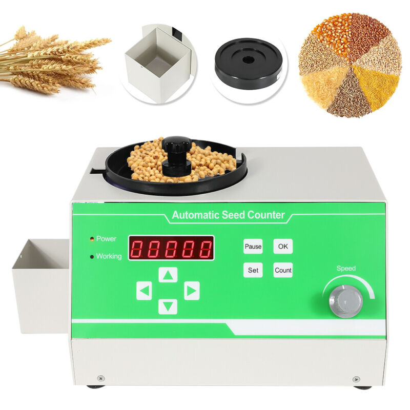 Microcomputer Automatic Seed Counter Count Instrument for Various Shapes Seeds