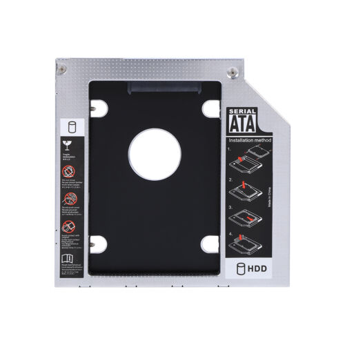 9.5mm SATA 2nd HDD SSD Hard Drive Caddy for Universal Laptop