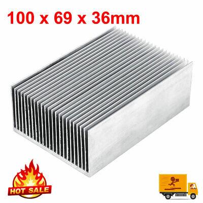 Aluminum Heat Sink Heatsink For Power Led Amplifier Transistor 100x69x36mm