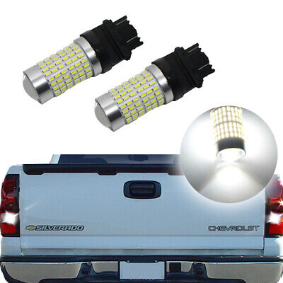 2PC White LED Backup Reverse Lights Bulbs For 1999-2013 Chevrolet Silverado 1500