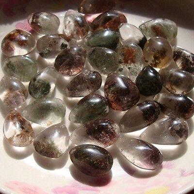 Natural Phantom Quartz Crystal point Healing Mineralien Calcit Bergkristall