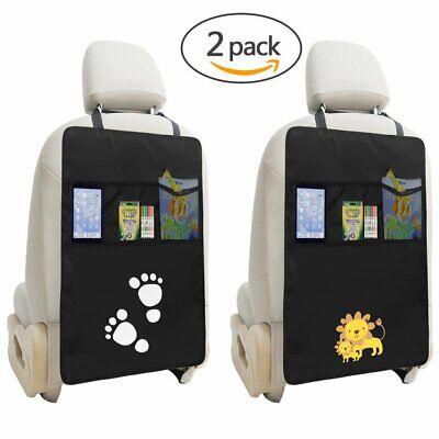 2x Auto Rücksitzschoner Rückenlehnenschutz Sitzschoner Kindersitzunterlage