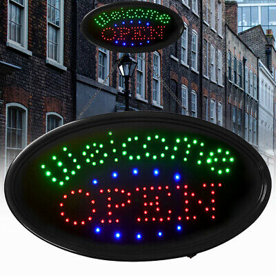 Welcome Open Sign Led Neon Open Store Window Shop Business Electric Display Us