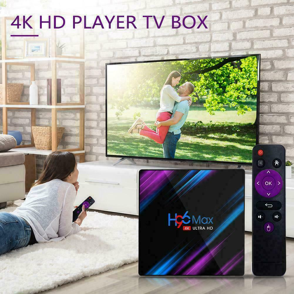 H96 Max Android 9.0 Quad Core 4K HD TV BOX 2GB+16GB Media Player WiFi / x96 mini 9
