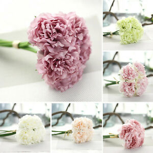 Artificial-Silk-Fake-Flowers-Peony-Wedding-Bouquet-Bridal-Hydrangea-Party-Decor