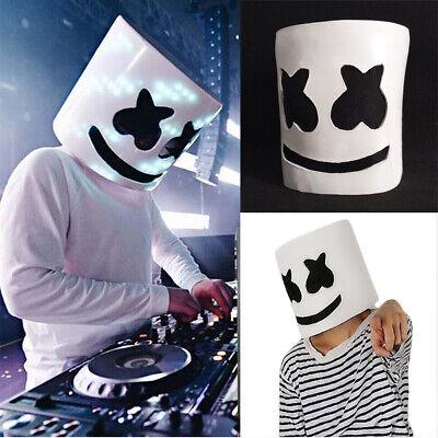 MarshMello DJ Mask Full Head Helmet Halloween Xmas Cosplay Mask Bar Music Party (Halloween Party Mask)