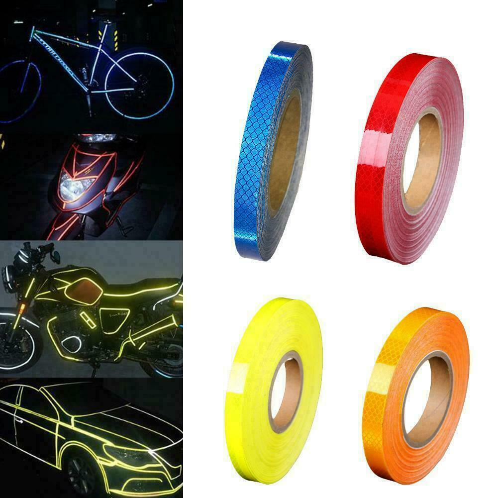 Car Bicycle Reflective Tape Safety Warning DIY Waterproof St