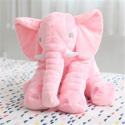 Rosa blau Plüsch Stofftier Kuscheltier Spielzeug Toy Groß Kinder Baby Elefant - ()