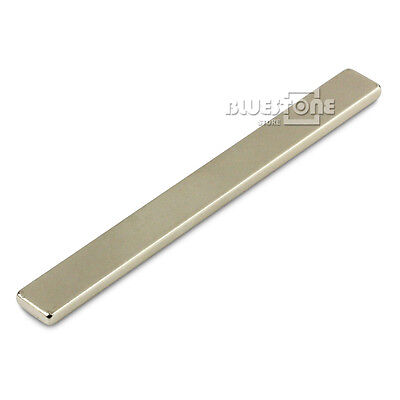 1pc Strong Long Block Bar Magnet 100x10x3 Mm Rare Earth Neodymium N50 Magnets