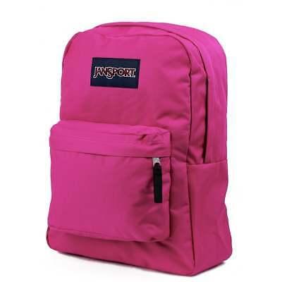 JANSPORT T501 Superbreak Backpack - Cyber Pink School bag T50101B