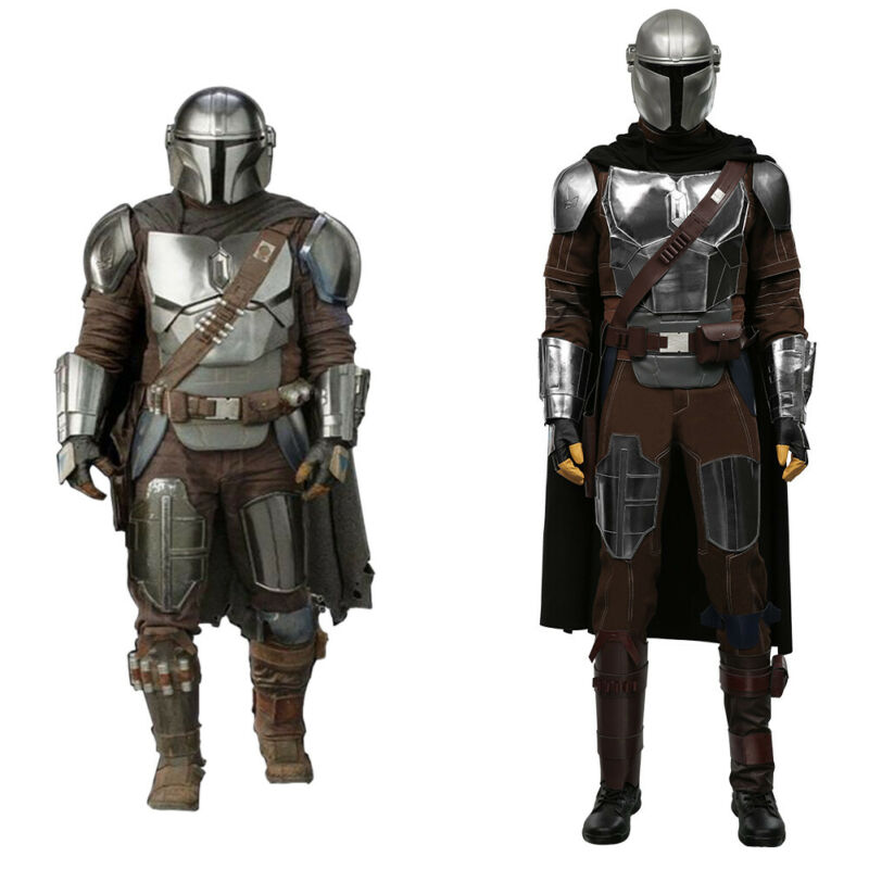 The Mandalorian Season 2 Din Djarin Cosplay Costume Halloween Outfit Full Set