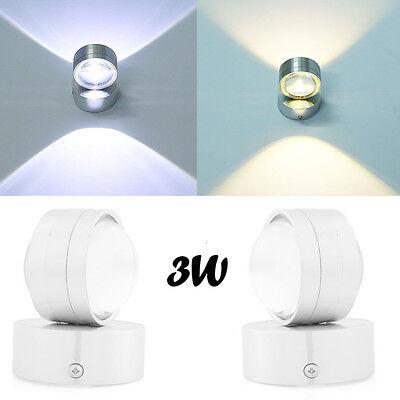 Kristall Wand Leuchte (3W 6W LED Wandleuchte Led Wandlampe Kristall Rund Led Wandlampe Flurlampen DHL N)