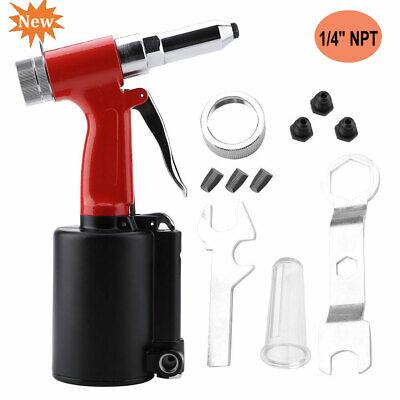Portable 14 Npt Pneumatic Air Hydraulic Rivet Gun Riveter Riveting Tool
