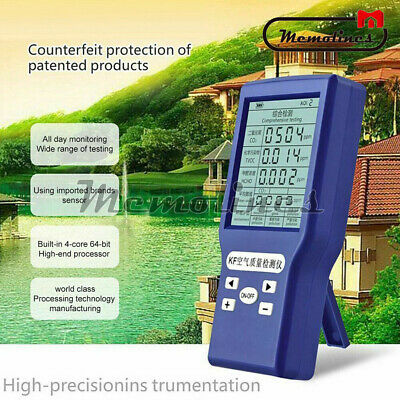 Co2tvochcho Ppm Meters Carbon Dioxide Detector Gas Analyzer Air Quality Tester