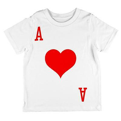 Halloween Ace of Hearts Card Soldier Costume All Over Toddler T Shirt - Ace Of Hearts Costume