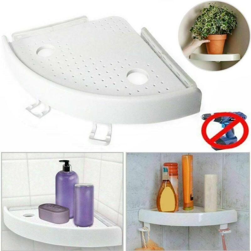 Badezimmer dreieckige Duschregale Ecke Bad Organizer Rack Lagerhalter