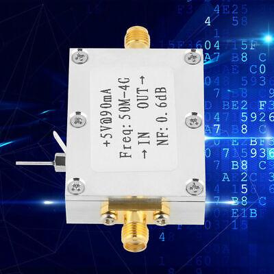 Amplifier LNA 50M-4GHz NF=0.6dB RF FM HF VHF / UHF Ham Radio 110dBm Low NEU ()
