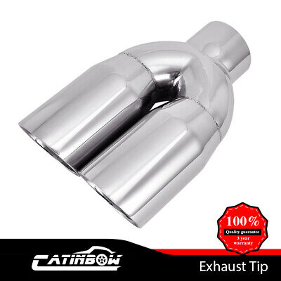 Dual Stainless Exhaust Tip 2.5