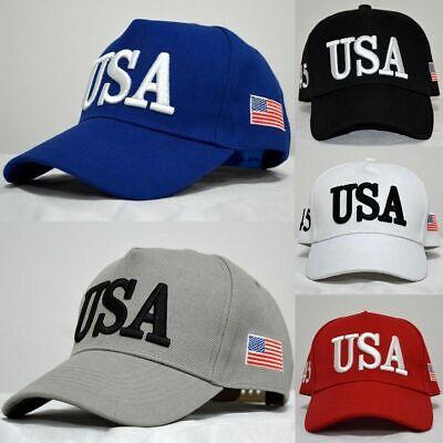 USA TRUMP HAT - 45TH PRESIDENT - MAKE AMERICA GREAT AGAIN Greats Adjustable Hat