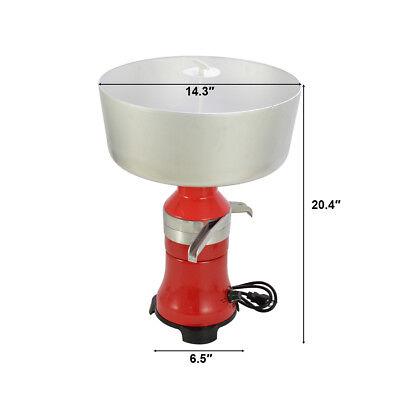 Speed-adjustable Centrifugal Milk Cream Separator Metal Fresh Milk Machine
