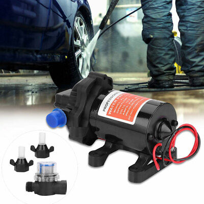 12v Water Pump 130 Psi Self Priming Pump Diaphragm High Pressure Fully Automatic