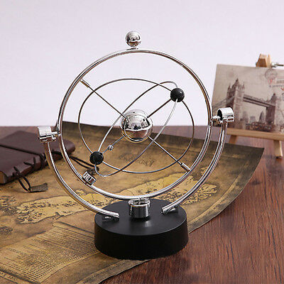 Kinetic Orbital Revolving Gadget Perpetual Motion Desk Art Toy Office Decor Gift