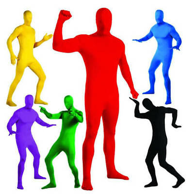 Unisex Adult Party Zentai Full Body Morph Body Suit Spandex Suit Costume Dress