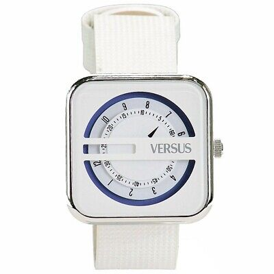 VERSACE Versus By Versace Kyoto SGH04 White Leather Analog Watch £150