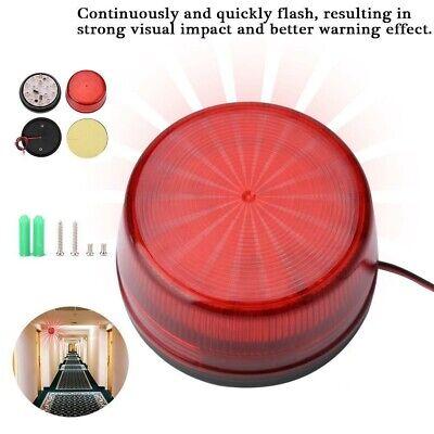1-4PCS LED Flashing Lamp Security Alarm Strobe Signal Warnin