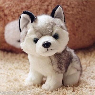 18cm Plush Stuffed Cotton Husky Dog Puppy Toy Doll Girl Kids Child Birthday Gift