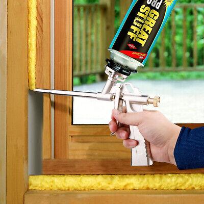 Professional All Metal Spray Foam Gun Expanding Polyurethane Insulating Tool Pro